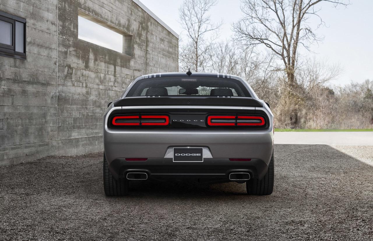 2015 Dodge Challenger Rear End