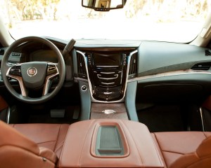 2015 Cadillac Escalade Interior Cockpit View