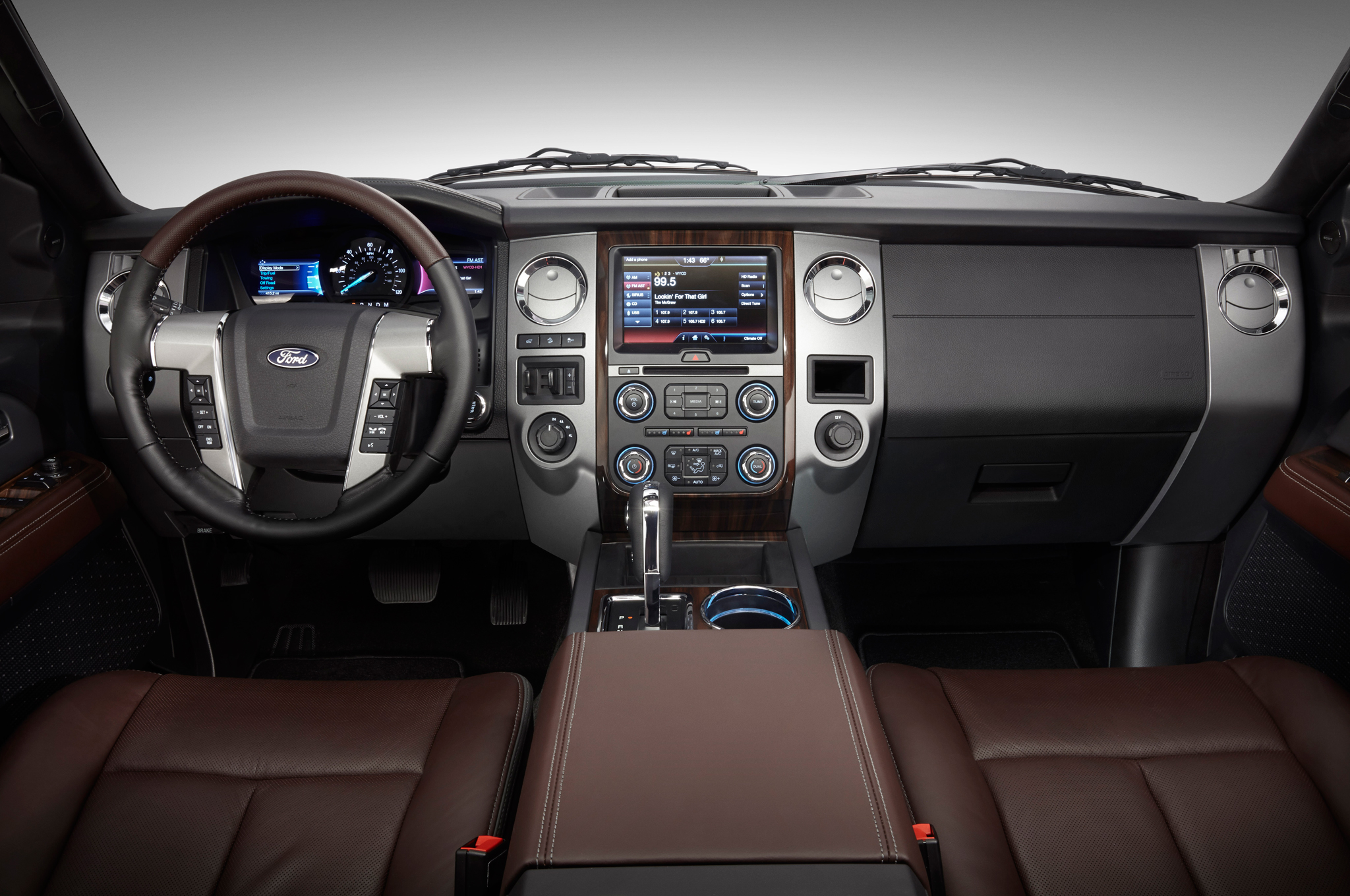 2015 Ford Expedition Front Interior and Dashboard