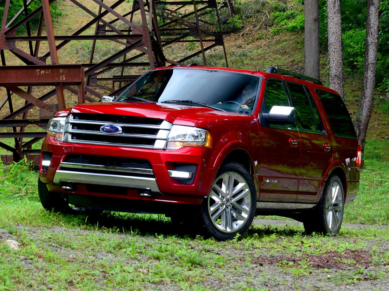 2015 Ford Expedition Red Exterior