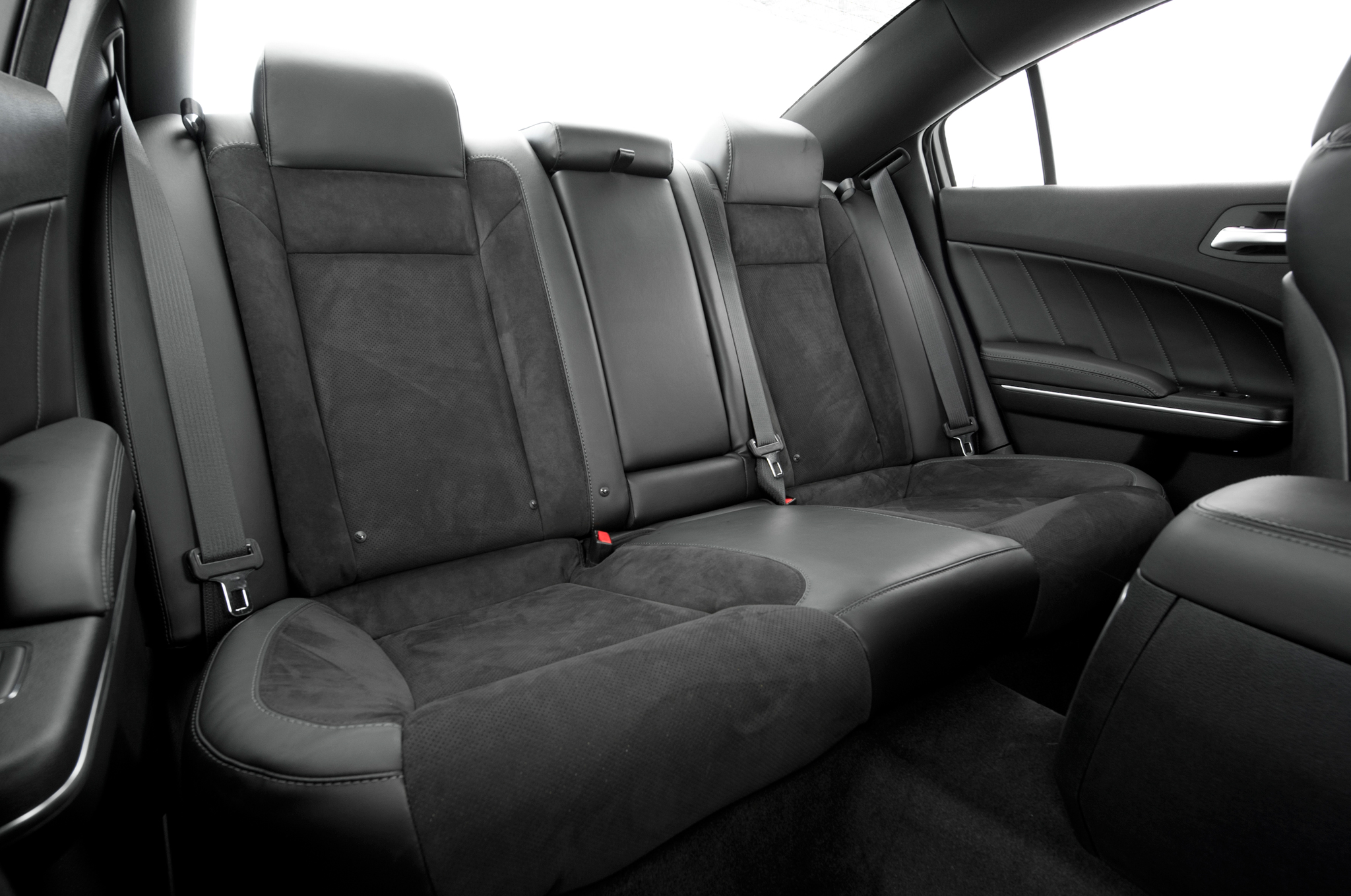 2015 Dodge Charger Rear Interior Seats