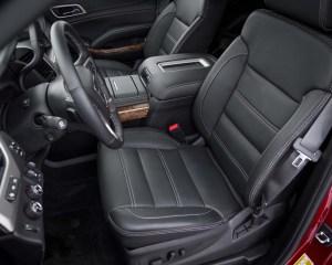 2015 GMC Yukon XL Front Seat View