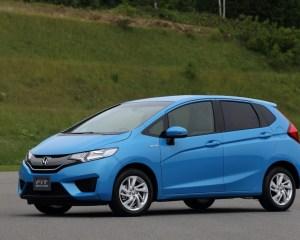 2015 Honda Fit Blue