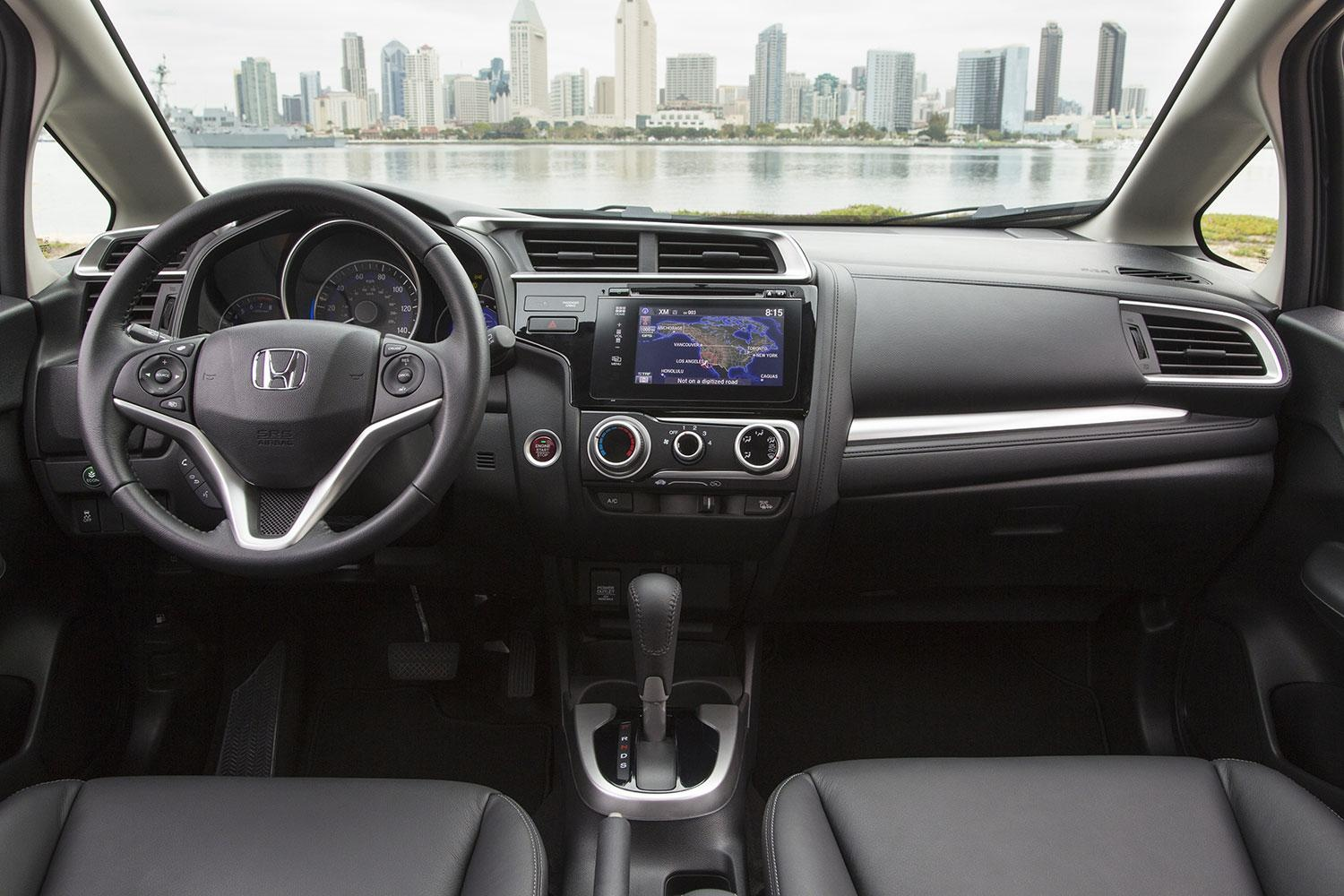 2015 Honda Fit Cockpit and Dashboard Interior