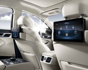 2015 Hyundai Genesis Rear Interior View
