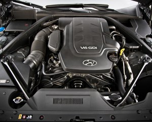 2015 Hyundai Genesis V6 Engine Profile