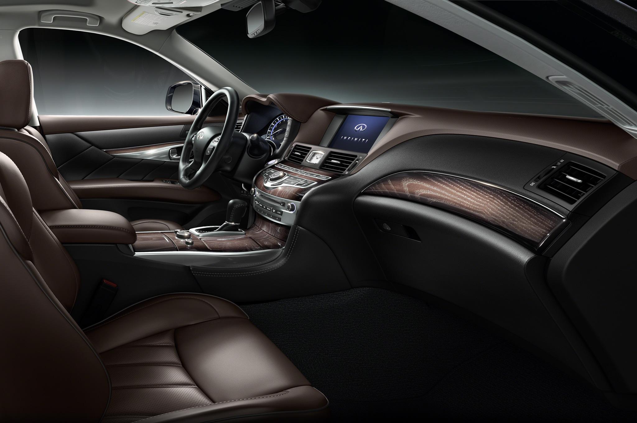 2015 Infiniti Q70L Cockpit and Front Interior