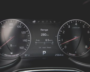 2015 Kia K900 Interior Speedometer