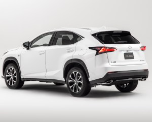 2015 Lexus NX Rear Side Design