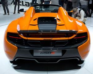 2015 McLaren 650S Rear Design