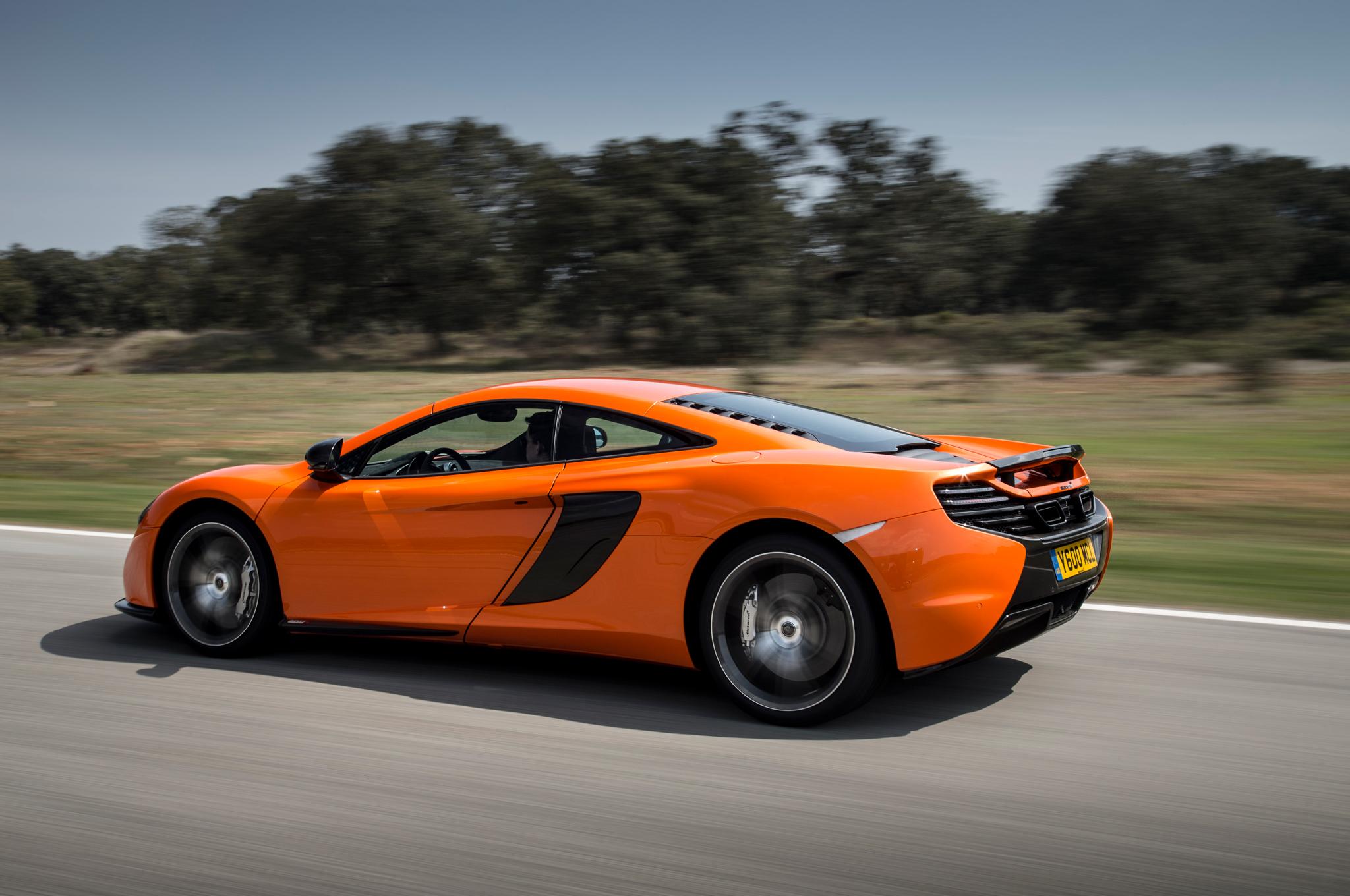 2015 McLaren 650S Side View
