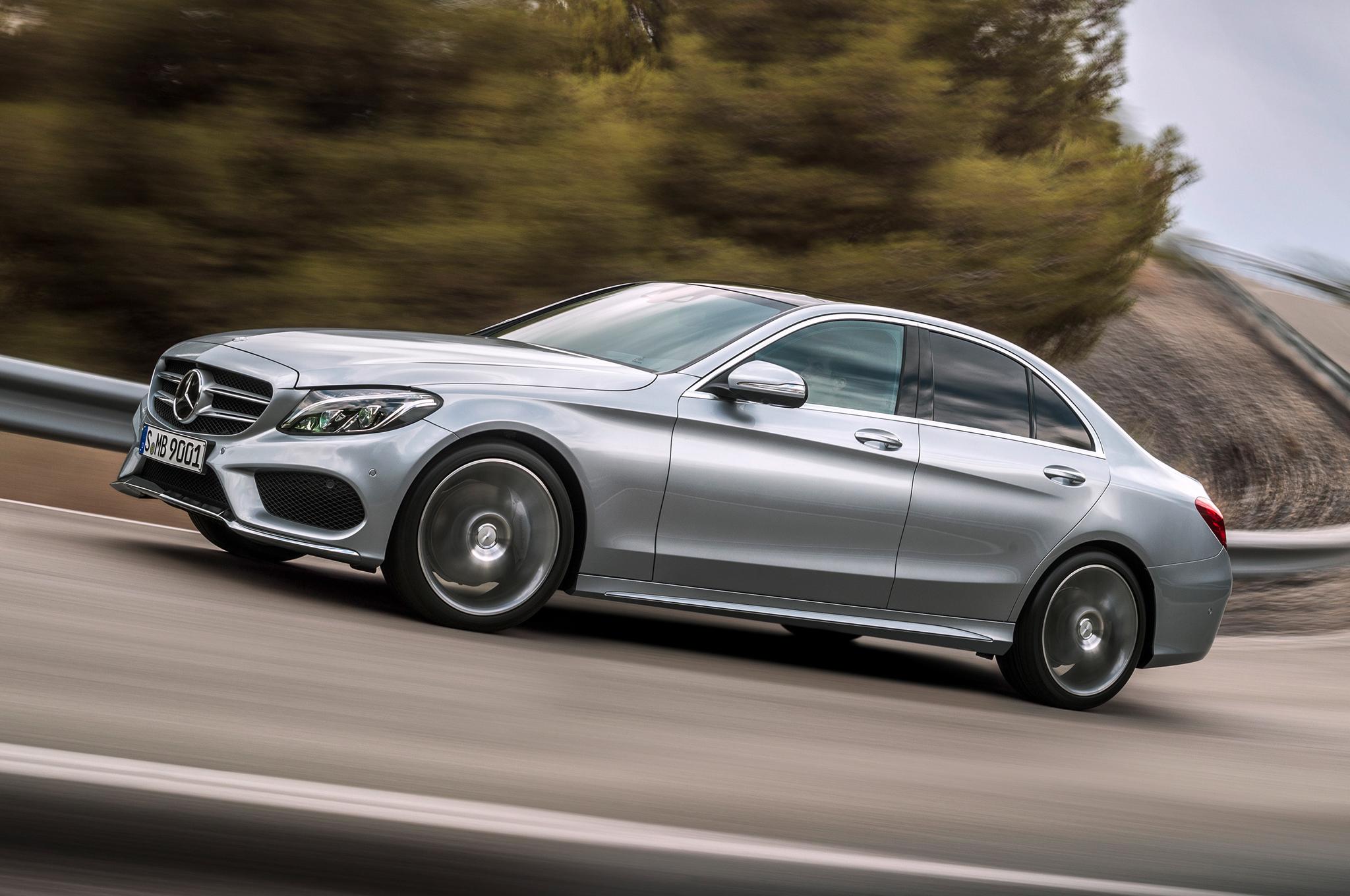 2015 Mercedes-Benz C-Class Performance Test
