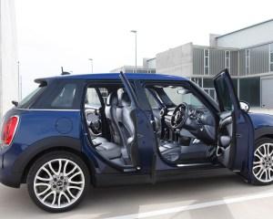 2015 Mini Cooper Hardtop 4-Door Doors Open Interior View