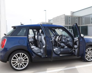 2015 Mini Cooper Hardtop 4-Door Doors Open Interior View