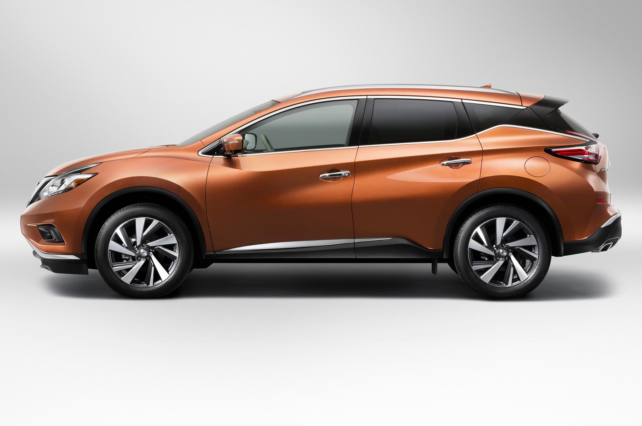 2015 Nissan Murano Side Design Profile