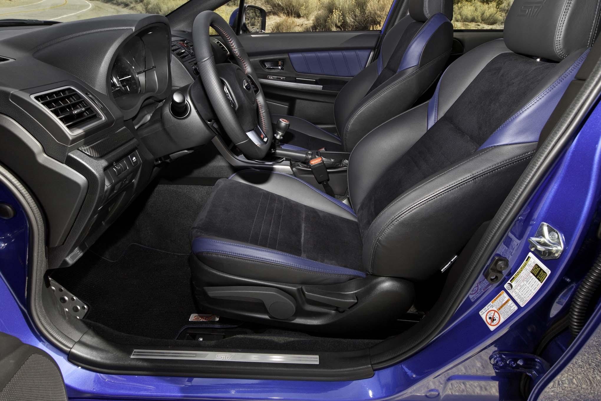 2015 Subaru WRX-STI Front Seats Interior
