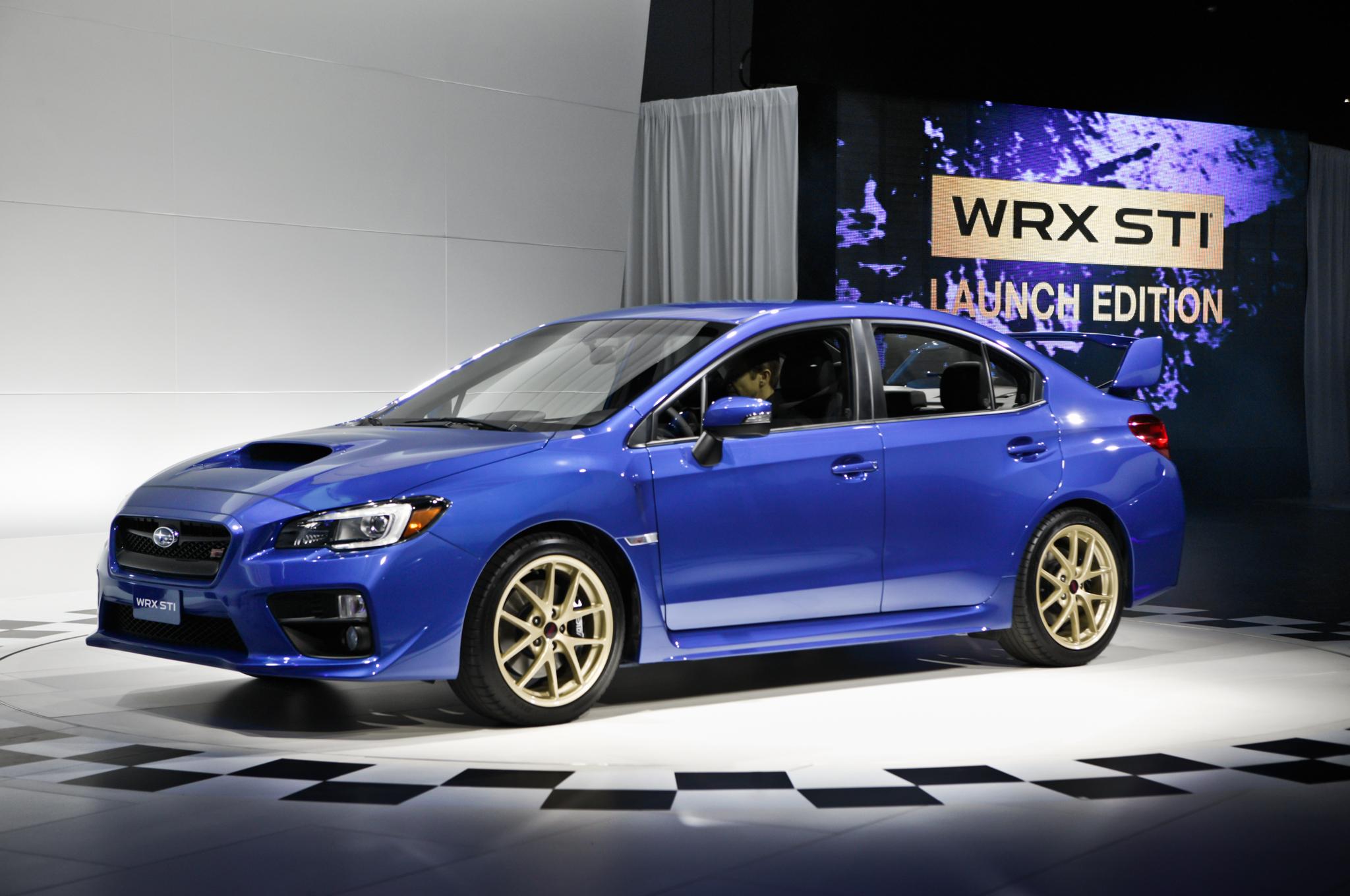 2015 Subaru WRX-STI Launch Edition