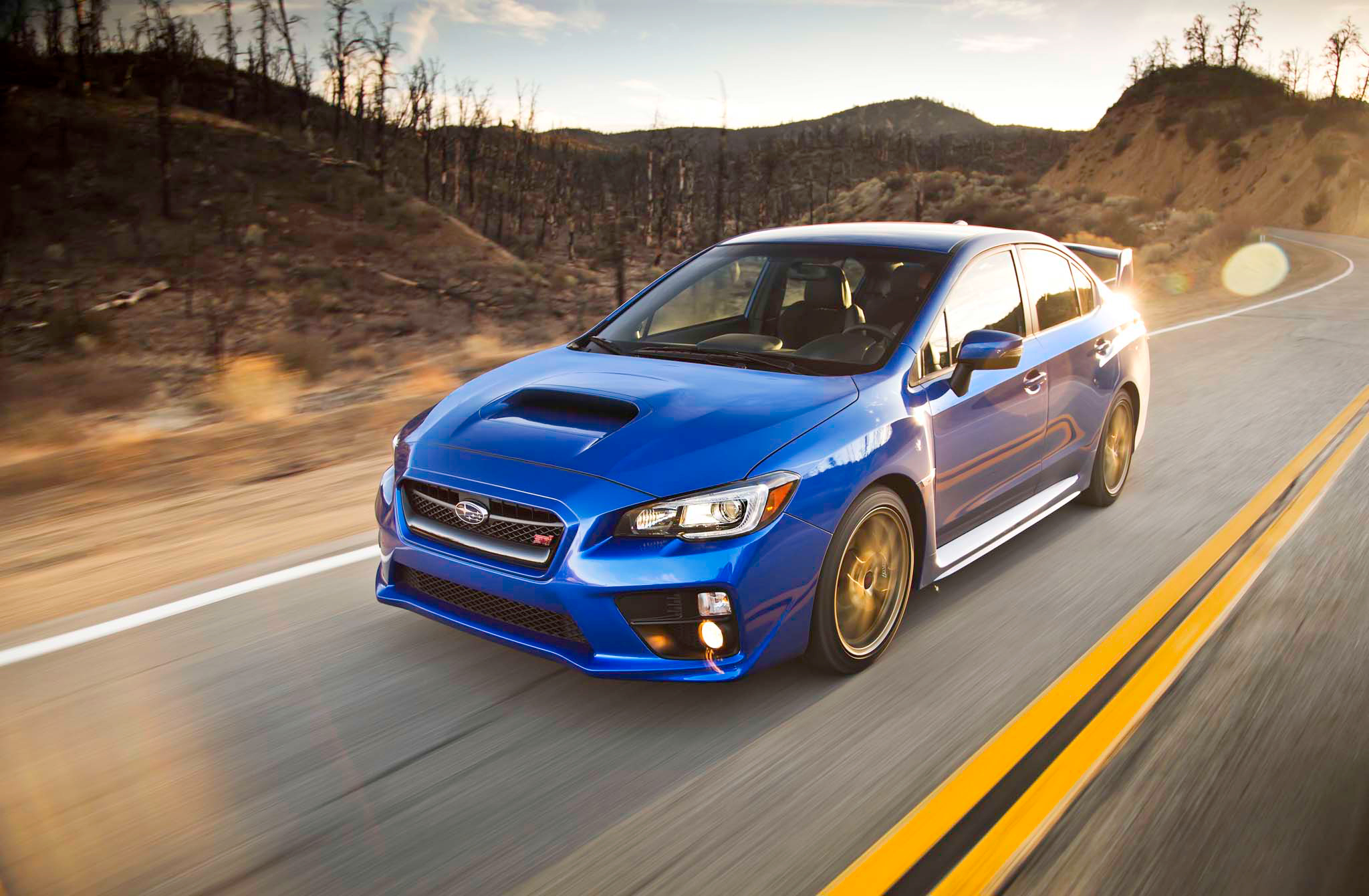 2015 Subaru WRX-STI Performance