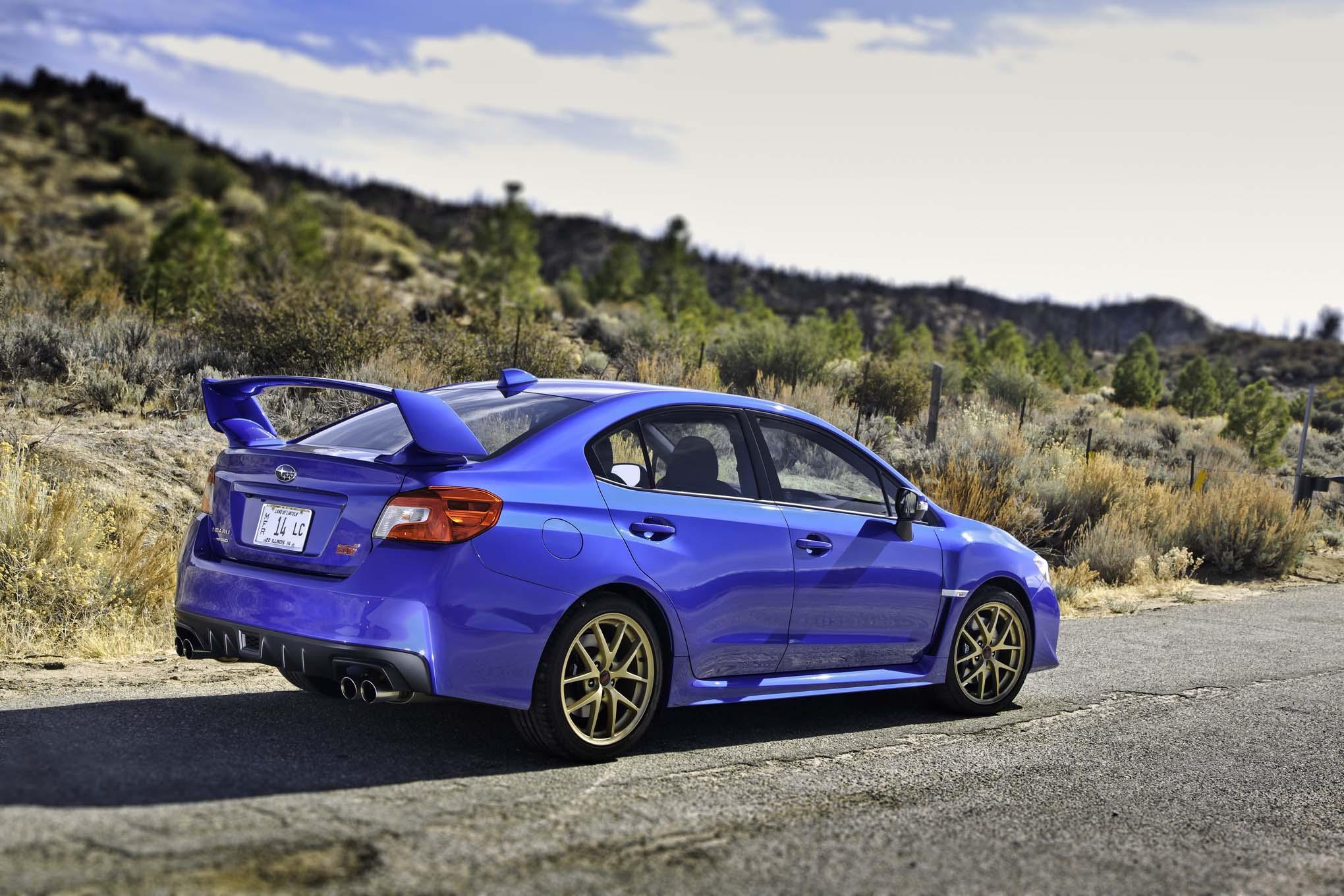 2015 Subaru WRX-STI Test Drive