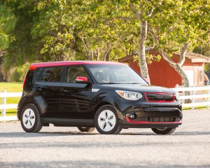 All New 2015 Kia Soul EV Black