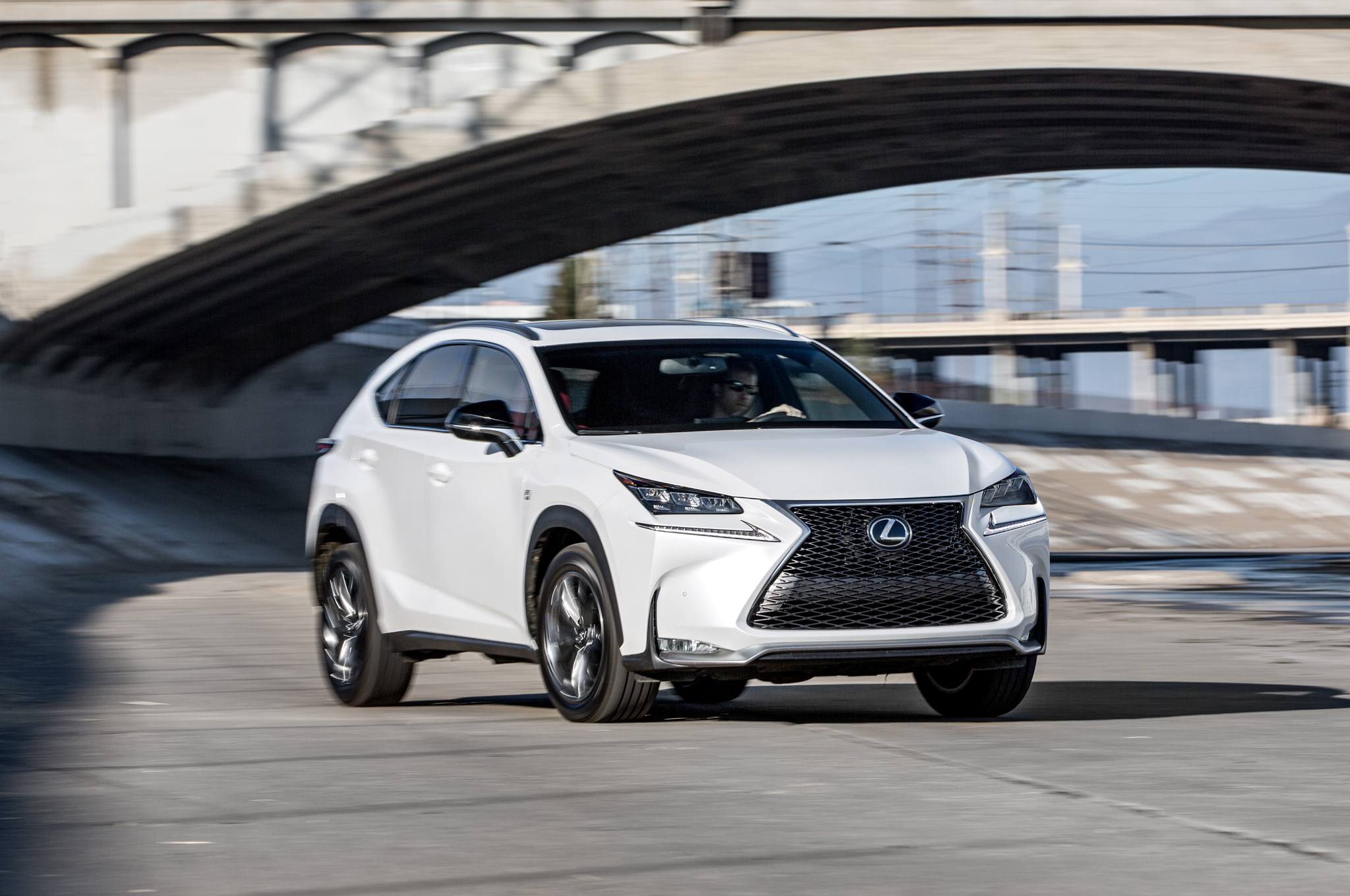 All New 2015 Lexus NX White