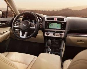 Elegance 2015 Subaru Outback Interior Dash