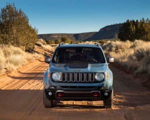 Front Design of 2015 Jeep Renegade
