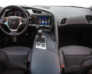 2014 Chevrolet Corvette Stingray Z51 Dashboard and Cockpit