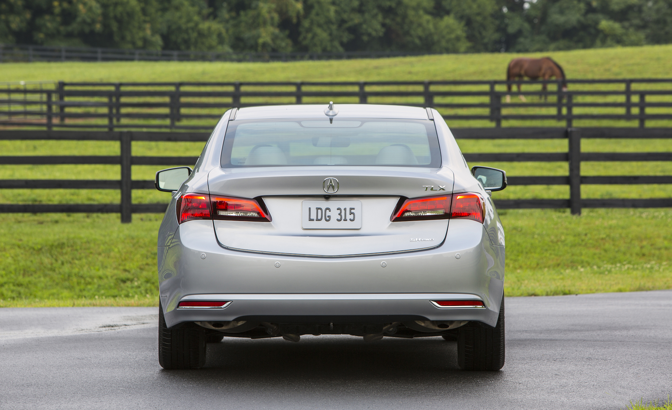 2015 Acura TLX 3.5L SH-AWD Exterior Rear View