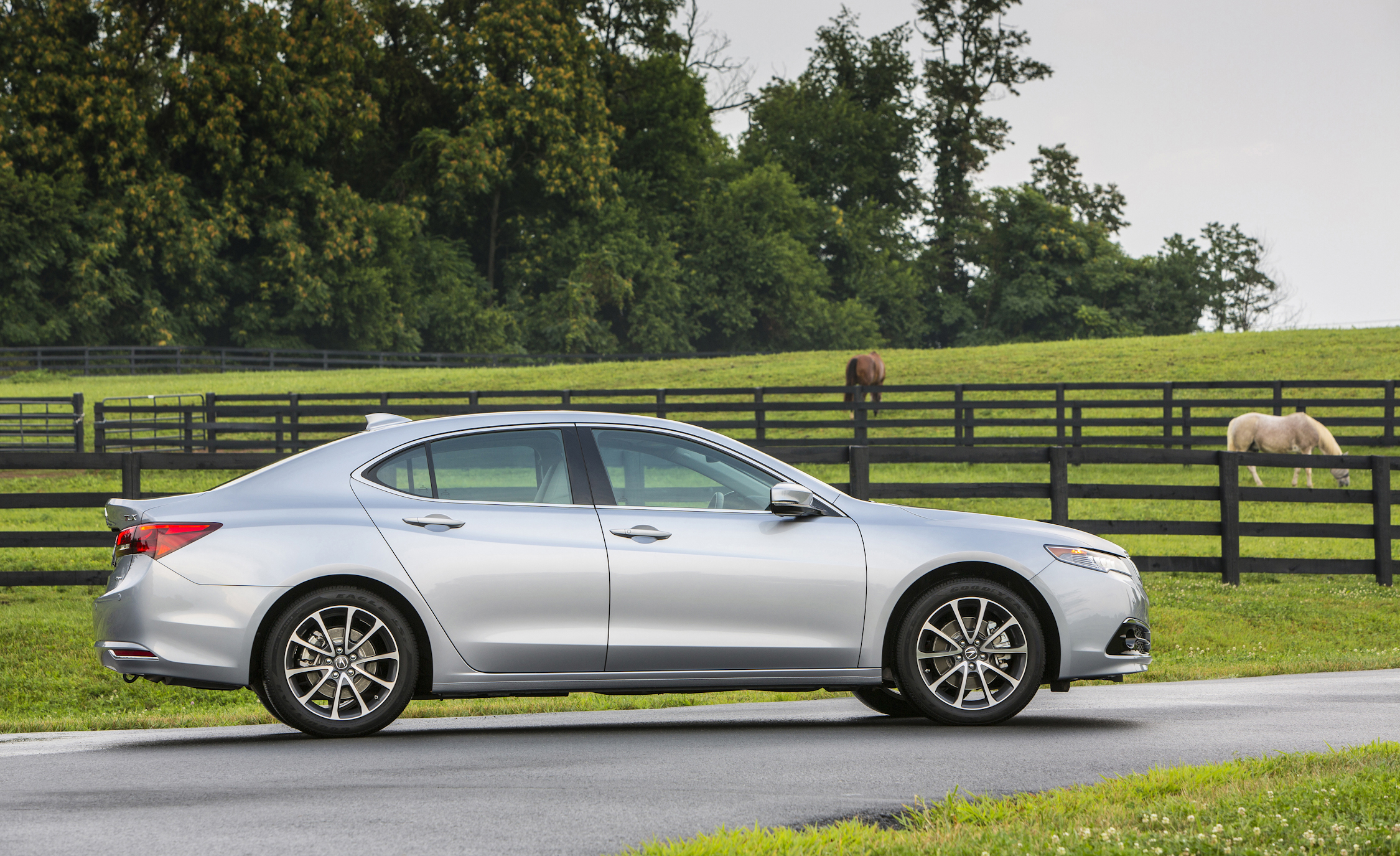 2015 Acura TLX 3.5L SH-AWD Exterior Side View