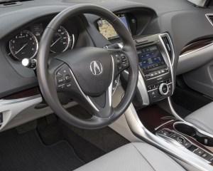 2015 Acura TLX 3.5L SH-AWD Interior Cockpit