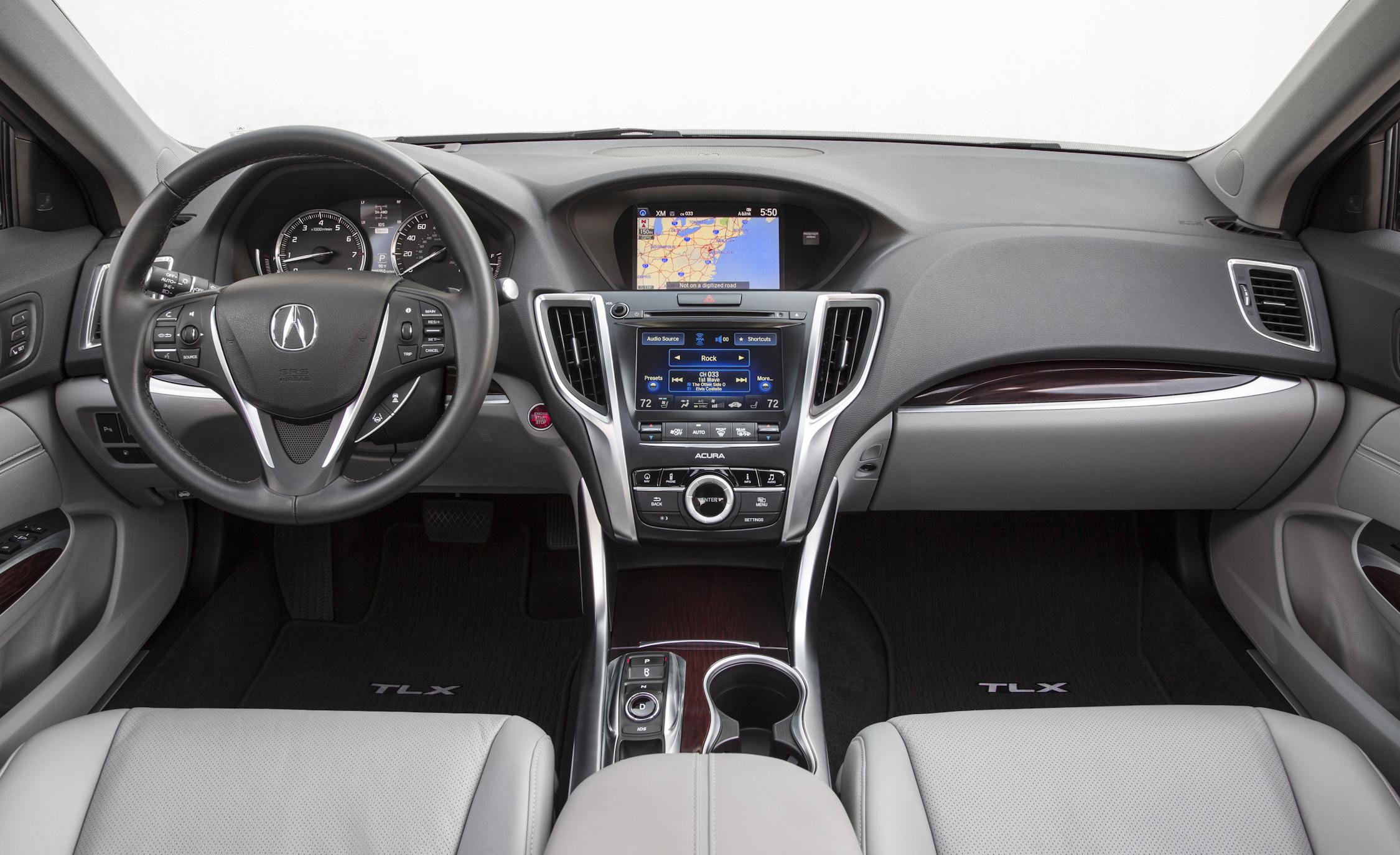 2015 Acura TLX 3.5L SH-AWD Interior Dashboard