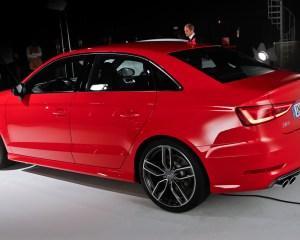 2015 Audi S3 Sedan Rear Side Preview