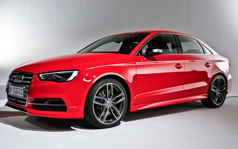 2015 Audi S3 Sedan Red