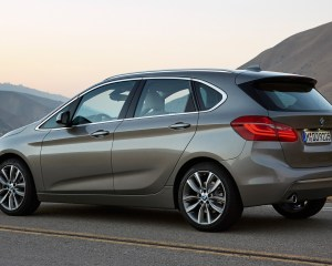 2015 BMW 2 Series Active Tourer 225i Rear Side Exterior