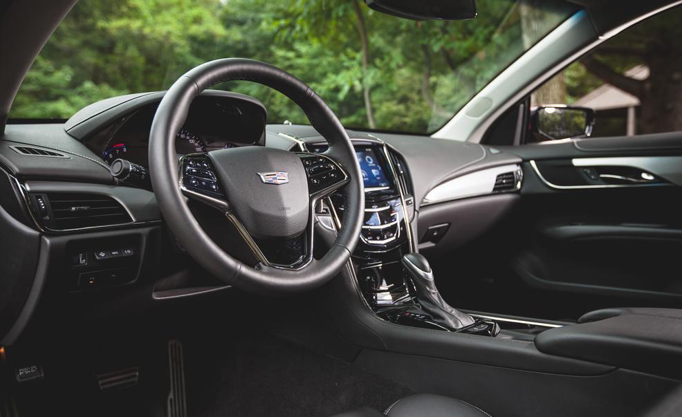 2015 Cadillac ATS Coupe Interior Cockpit