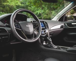 2015 Cadillac ATS Coupe Interior Cockpit