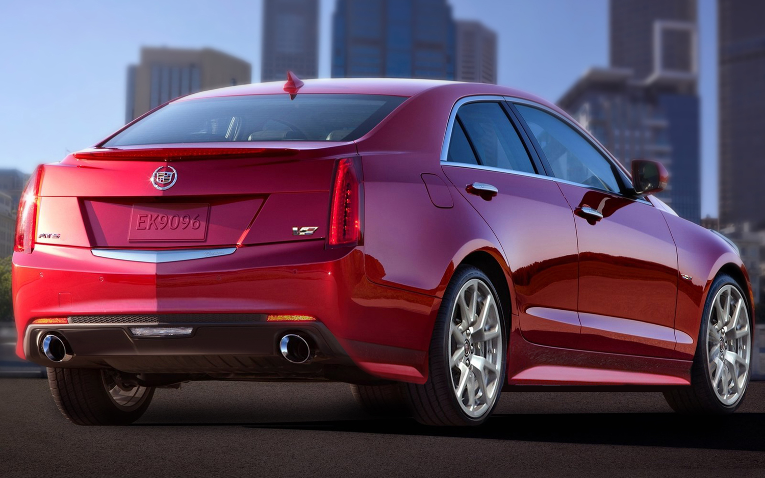 2015 Cadillac ATS-V Rear Side Exterior