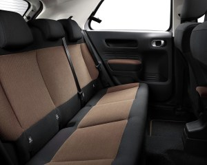 2015 Citroen C4 Cactus Rear Seats Interior