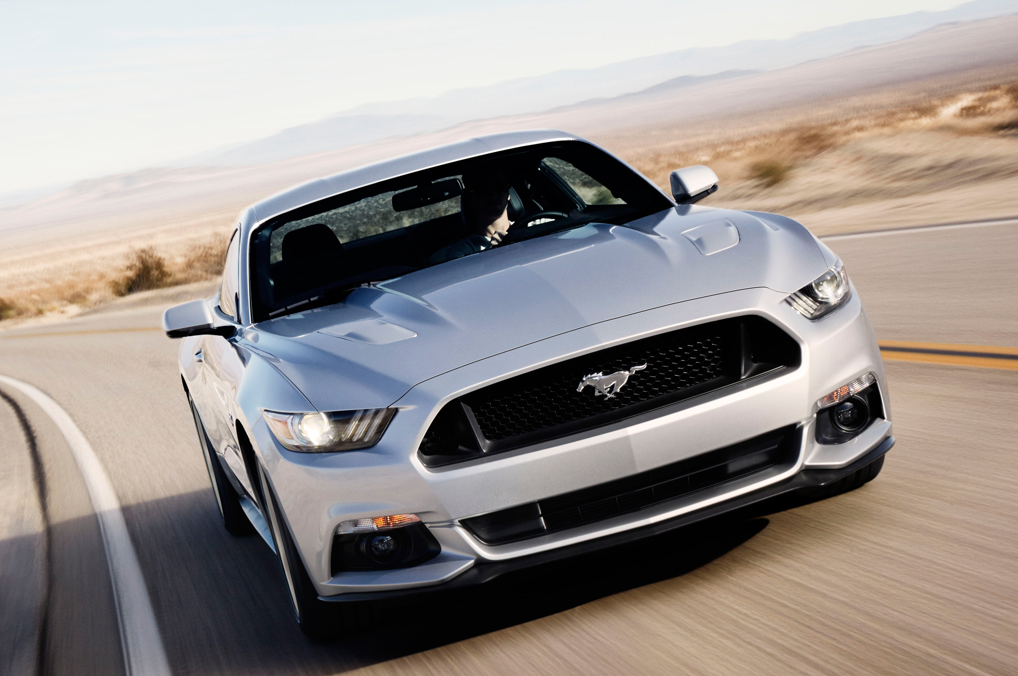 2015 Ford Mustang GT Front End