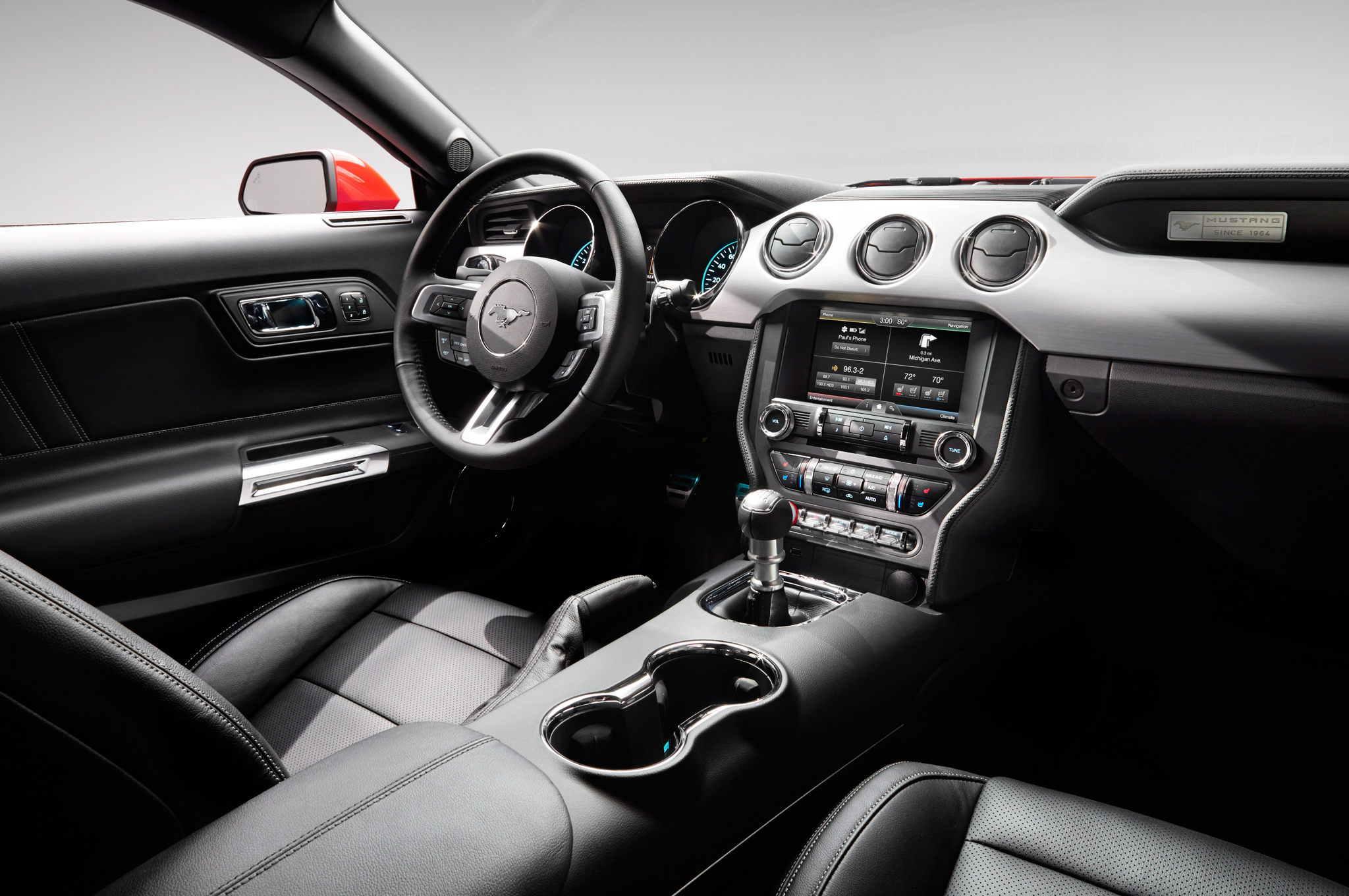 2015 Ford Mustang GT Front Interior