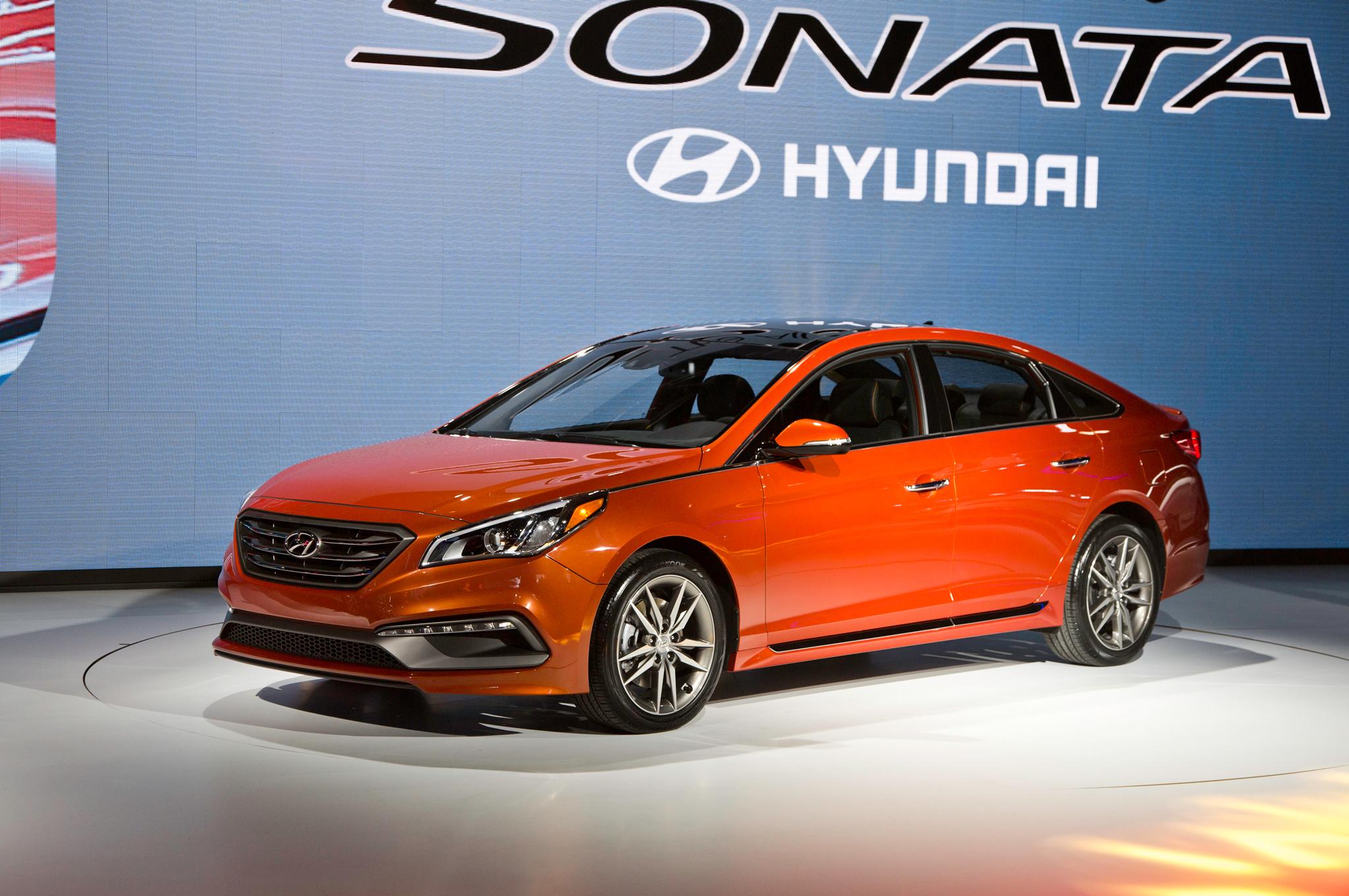 2015 Hyundai Sonata Auto Show