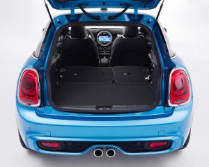 2015 Mini Cooper 5-Door Rear Cabin