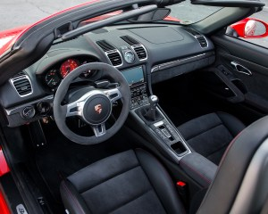 2015 Porsche Boxster GTS Cockpit Interior