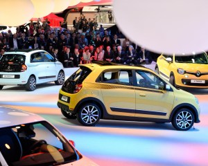 2015 Renault Twingo Auto Show