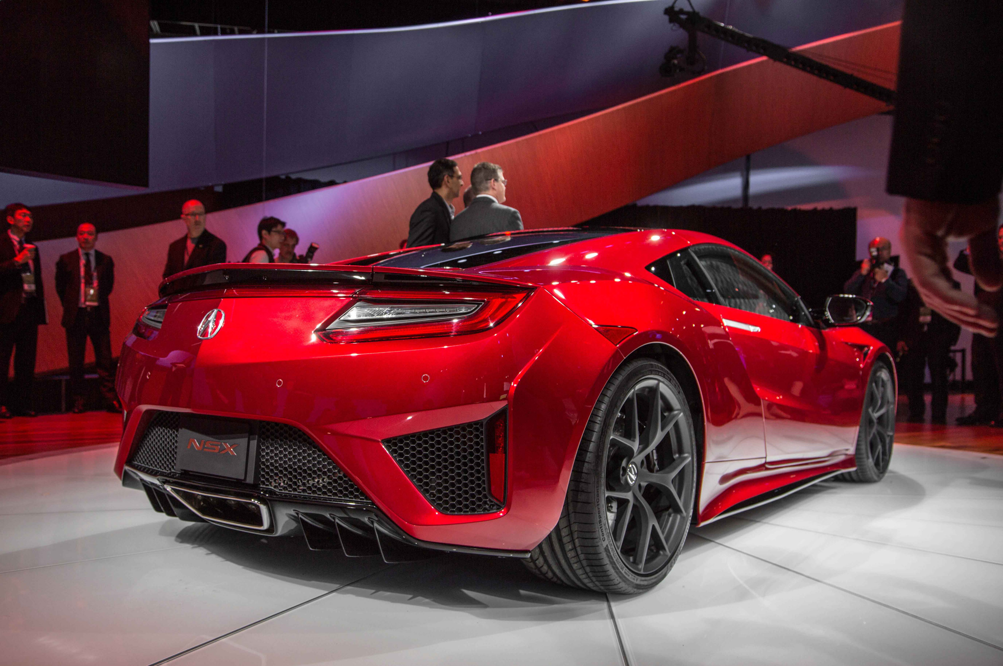 2016 Acura NSX Rear Side View