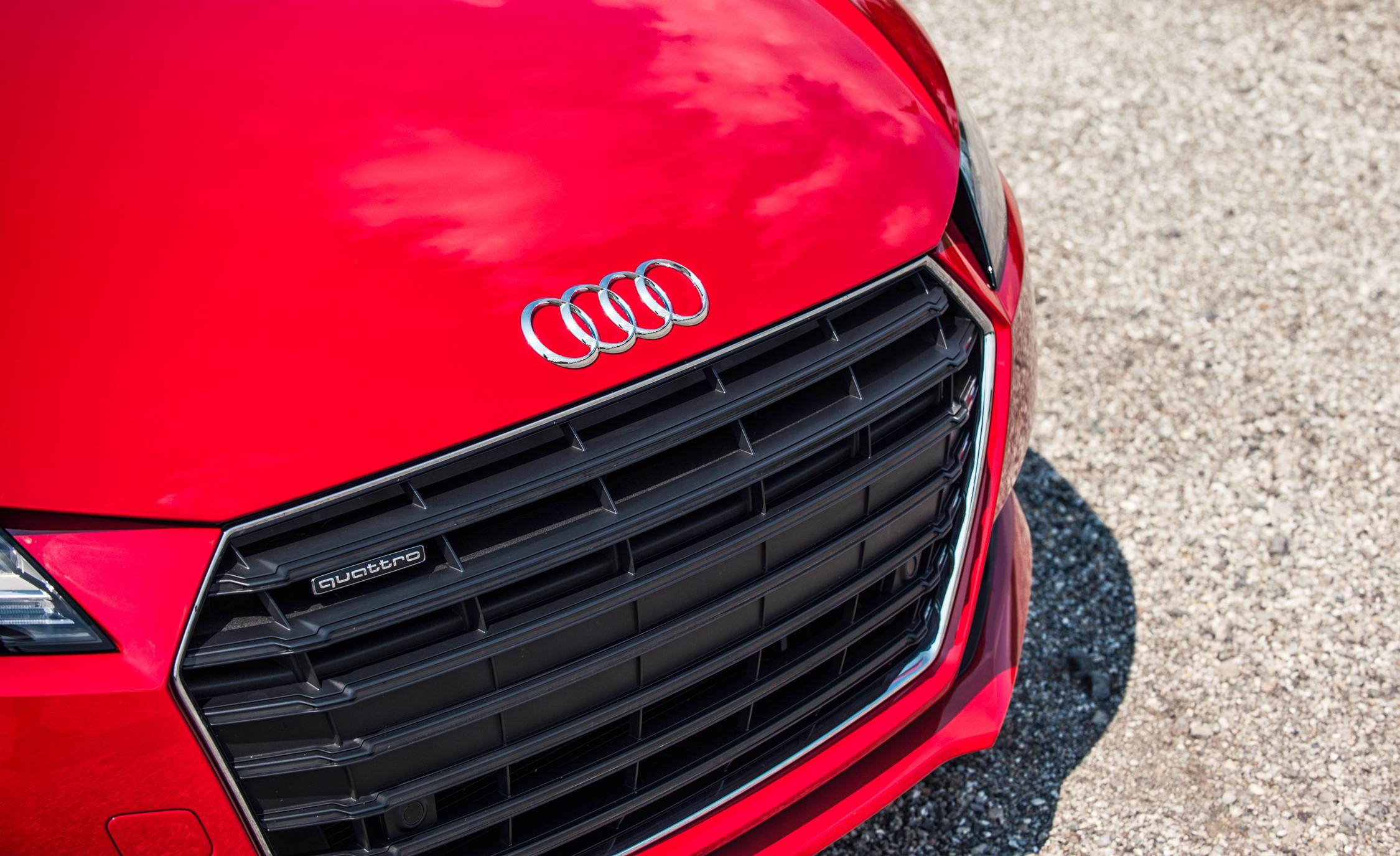 2016 Audi TT Coupe Exterior Grille