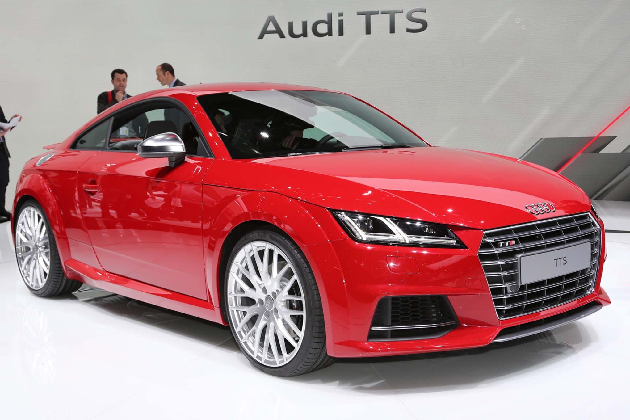 2016 Audi TTS Exterior Profile