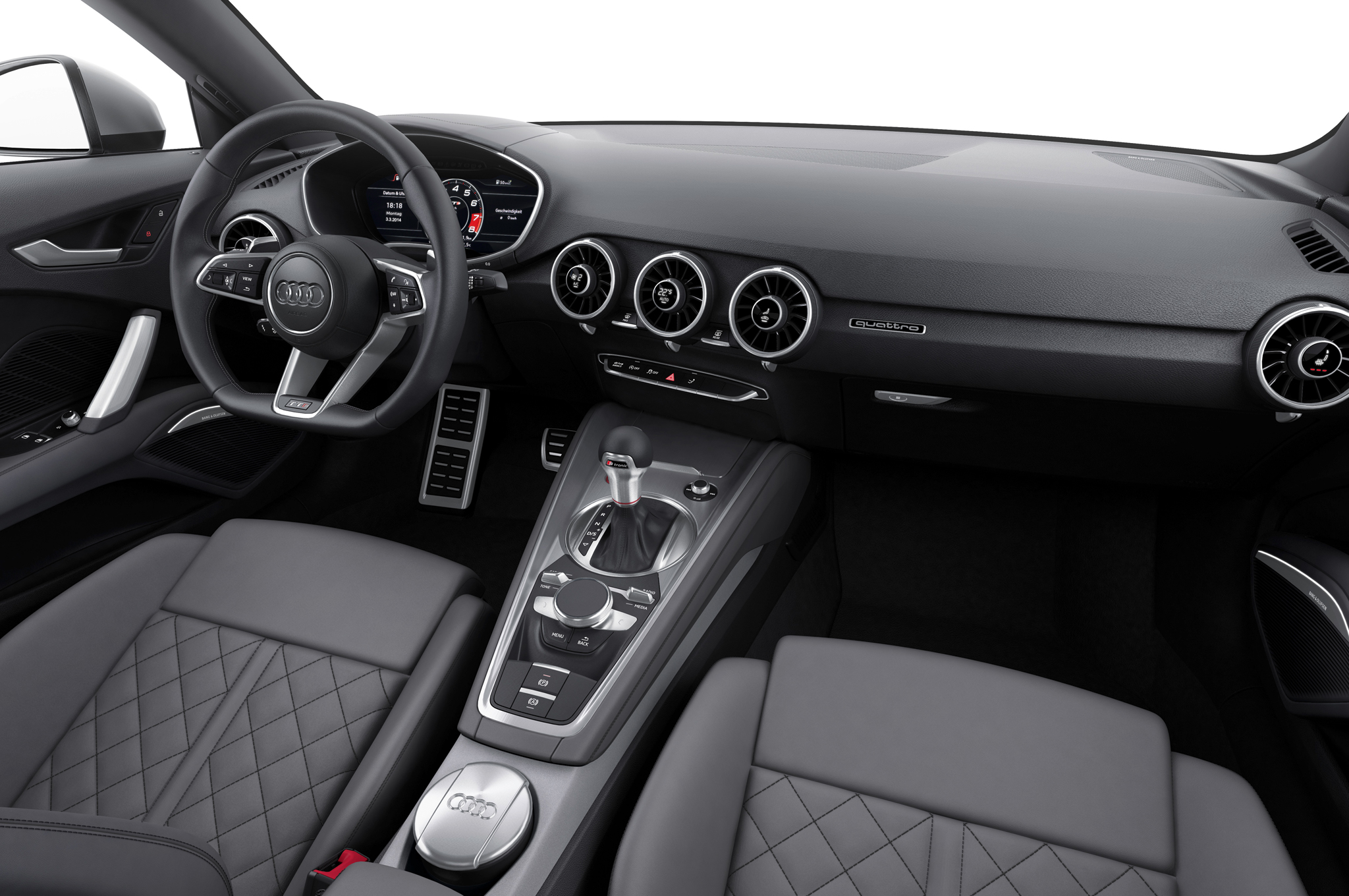 2016 Audi TTS Interior Dashboard