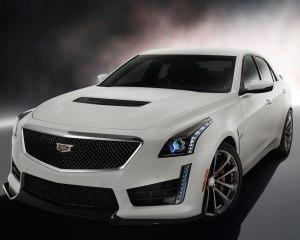 2016 Cadillac ATS-V Exterior Profile